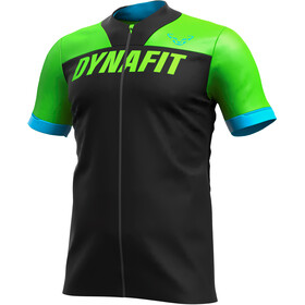 Dynafit Ride Full Zip SS Tee Men lambo green
